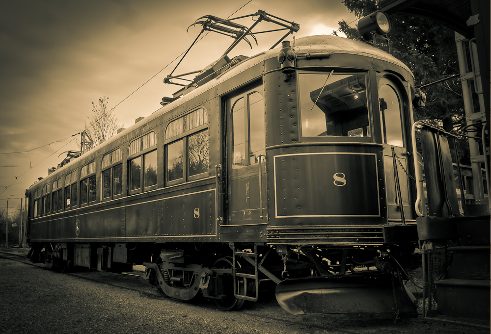 3 Image HDR Tram #8