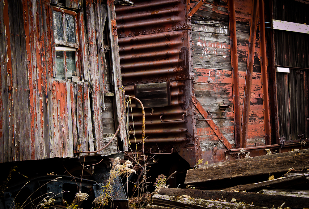 3 Image HDR Boxcars